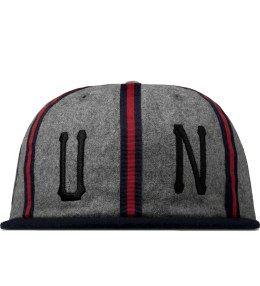 UNDEFEATED Heather Grey Panel Cap Picture