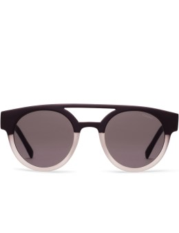 KOMONO Matt Black/Transparent Dreyfuss Sunglasses Picture
