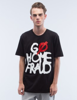 UNDEFEATED Go Home Fraud T-Shirt Picture