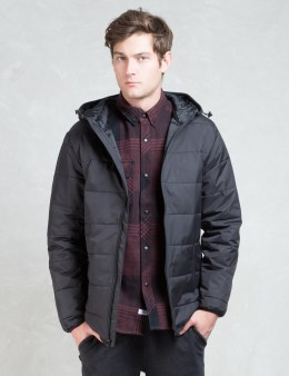 The Hundreds Black Turm Jacket Picture