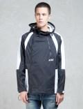 D.TT.K. Black/white Mountain Hooded Jacket Picutre
