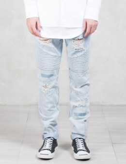 STAMPD Moto Repaired Denim Picture