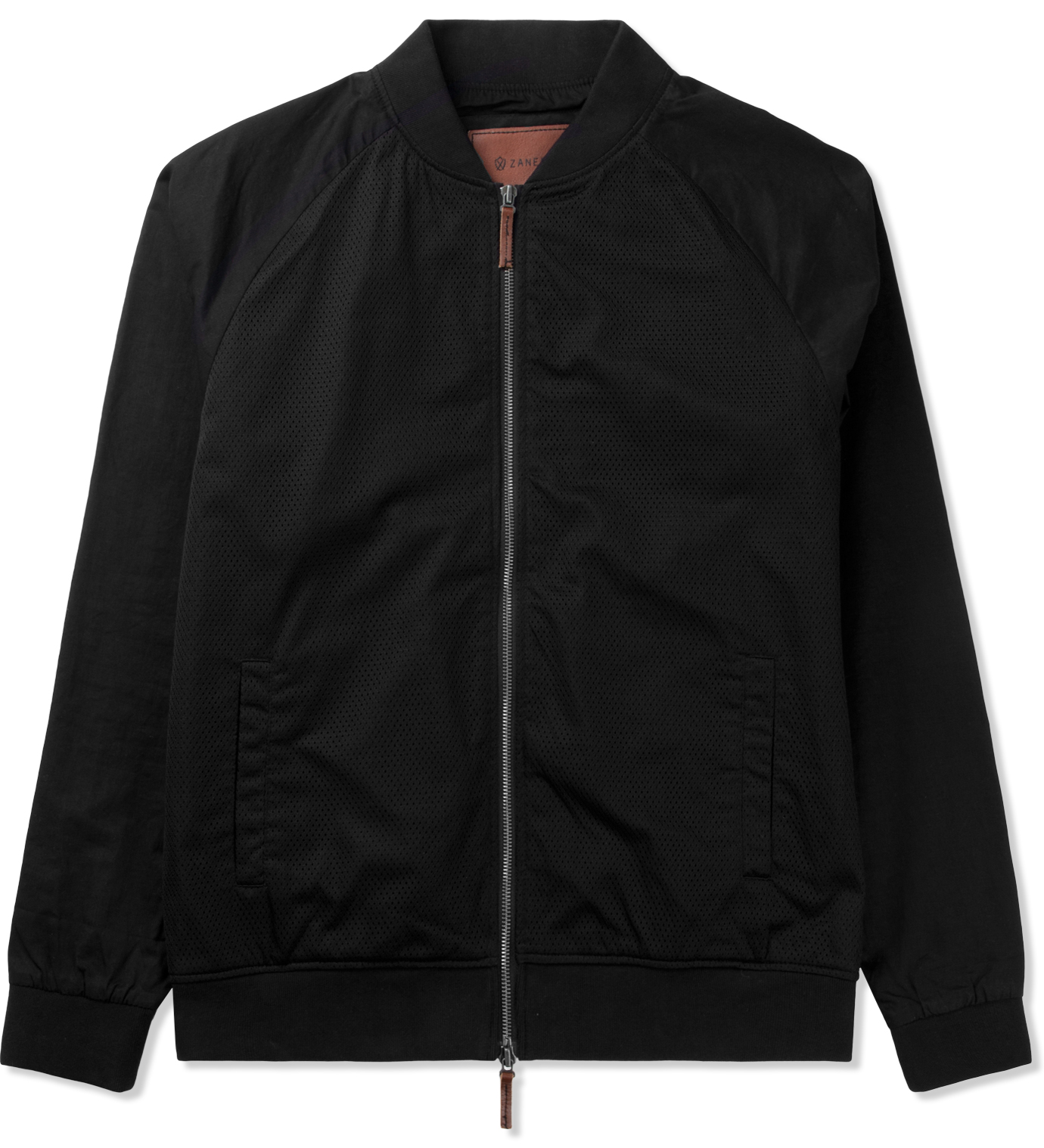 ZANEROBE Black Dugout Bomber Jacket