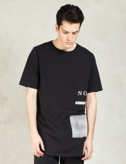 Tourne de Transmission Black Noise Without Noise T-Shirt Long Picture