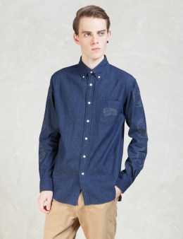 Billionaire Boys Club Reflective Print Denim Shirt Picture