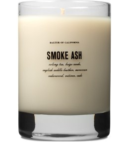 Baxter of California Smoke Ash Flammable Soy Wax Scented Candle Picture
