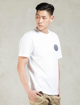Carhartt WORK IN PROGRESS White S/S Seal Patch T-Shirt Picture