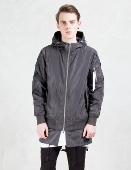STAMPD Charcoal Double Layer Bomber Picture