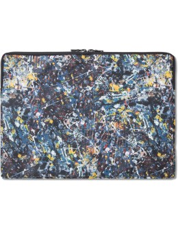 "Medicom Toy ""Jackson Pollock"" Note Pc Case for 13inch Picture"