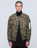 STAMPD Camo Washed Bomber Picutre