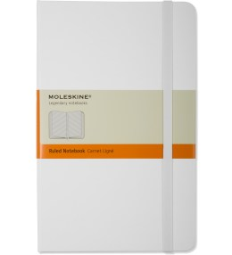 MOLESKINE White Ruled Large Notebook Picture