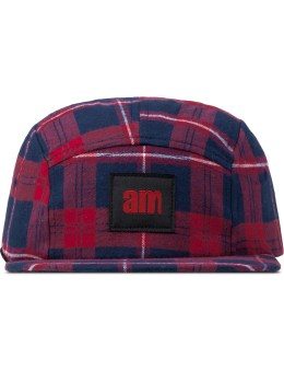 after midnight NYC Red Am Logo(Red Label) Flannel Camp Cap Picture