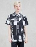 DOPE Glitch S/S Button Up Shirt Picutre