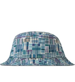The Quiet Life Blue Liberty Madras Bucket Hat Picture