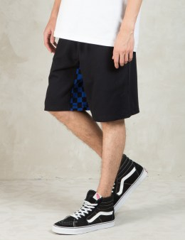 HALL OF FAME Black Checked Gusset Shorts Picture