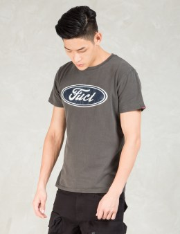 FUCT SSDD Black F Oval T-Shirt Picture