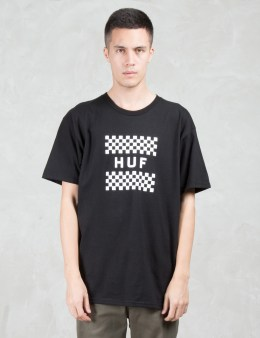 HUF Checkerboard Box Logo S/S T-Shirt Picture