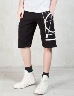 McQ Alexander McQueen Side McQ Logo Sweat Shorts Picture
