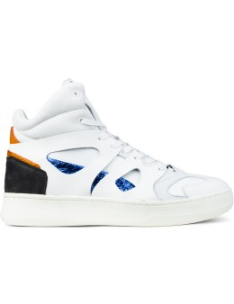 Puma White MCQ X Puma Move Mid Sneaker Picture