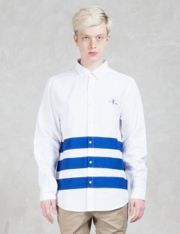 Daily Paper Stripe Shield Logo Shirt Picture