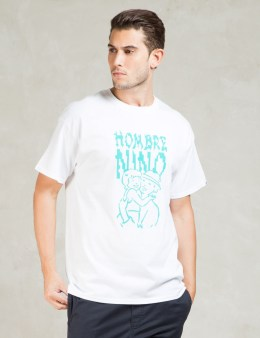 Hombre Nino White S/S Parent and Child Print T-Shirt Picture