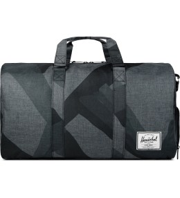 Herschel Supply Co. Black Portal Novel Duffle Bag Picture