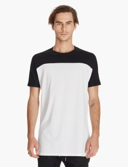 ZANEROBE Black/white Top Tall T-shirt Picture