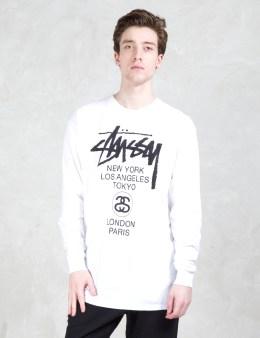 Stussy World Tour L/S T-Shirt Picture