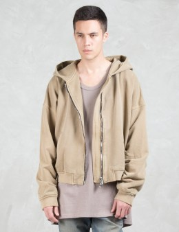 Dominans Stravan Oversize Zip-Up Hoodie Sweat Jacket Picture