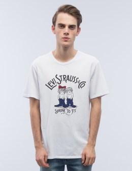 Levi's Bound Neck Gaphic S/S T-Shirt Picture