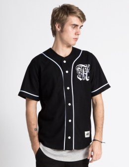ALIFE Black Antique A Baseball Jersey Picture