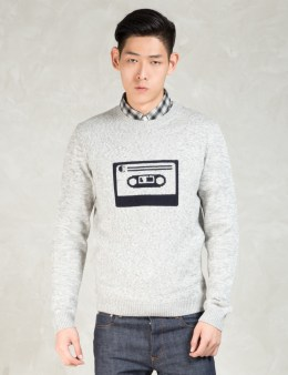 CARVEN Grey Cassette Sweater Picture
