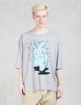 Henrik Vibskov Elafeet Print Oversize S/S T-Shirt Picture