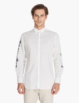 ZANEROBE White Sln 7ft L/s Shirt Picture