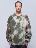 N.D.G. STUDIO Camo Tie Dye Bryn Sweatshirt Picutre