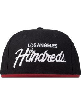 The Hundreds Black Team Snapback Picture