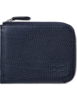 Head Porter Navy Siena Zip Wallet Picture