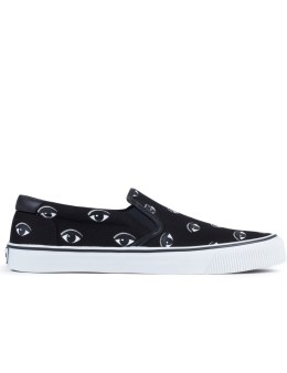 KENZO Velvet Eyes Canvas Sneakers Picture
