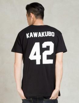 LES (ART)ISTS Black KAWAKUBO42 Football T-Shirt Picture