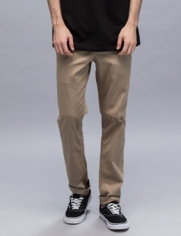 HUF Fulton Chino Slim Pants Picture