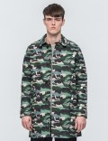 MAISON KITSUNE Landscape Ochiro Water Repellent Raincoat Picture