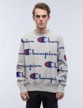 Champion Reverse Weave Overall Script Logo Sweatshirt Picutre