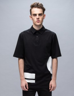 McQ Alexander McQueen Circle & Stripe Relaxed Polo Picture
