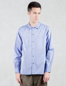 VALLIS BY FACTOTUM Tapered L/S Shirt Picture