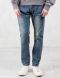 C2H4 Los Angeles Double Waist Heavy Wash Jeans Picture