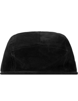 Hender Scheme Black Jet Cap Pig Leather Picture