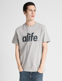ALIFE Heather Grey Core Fill T-Shirt Picture