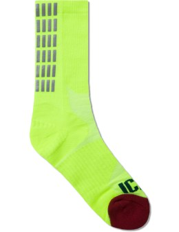 ICNY Yellow Half Calf Socks Picture