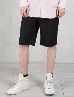 Our Legacy Cotton Linen Relaxed Shorts Picture