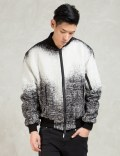 REPRESENT Clothing White Oblivion Bomber Picture
